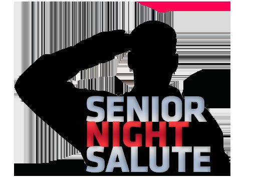 Senior Night Salute Transparent