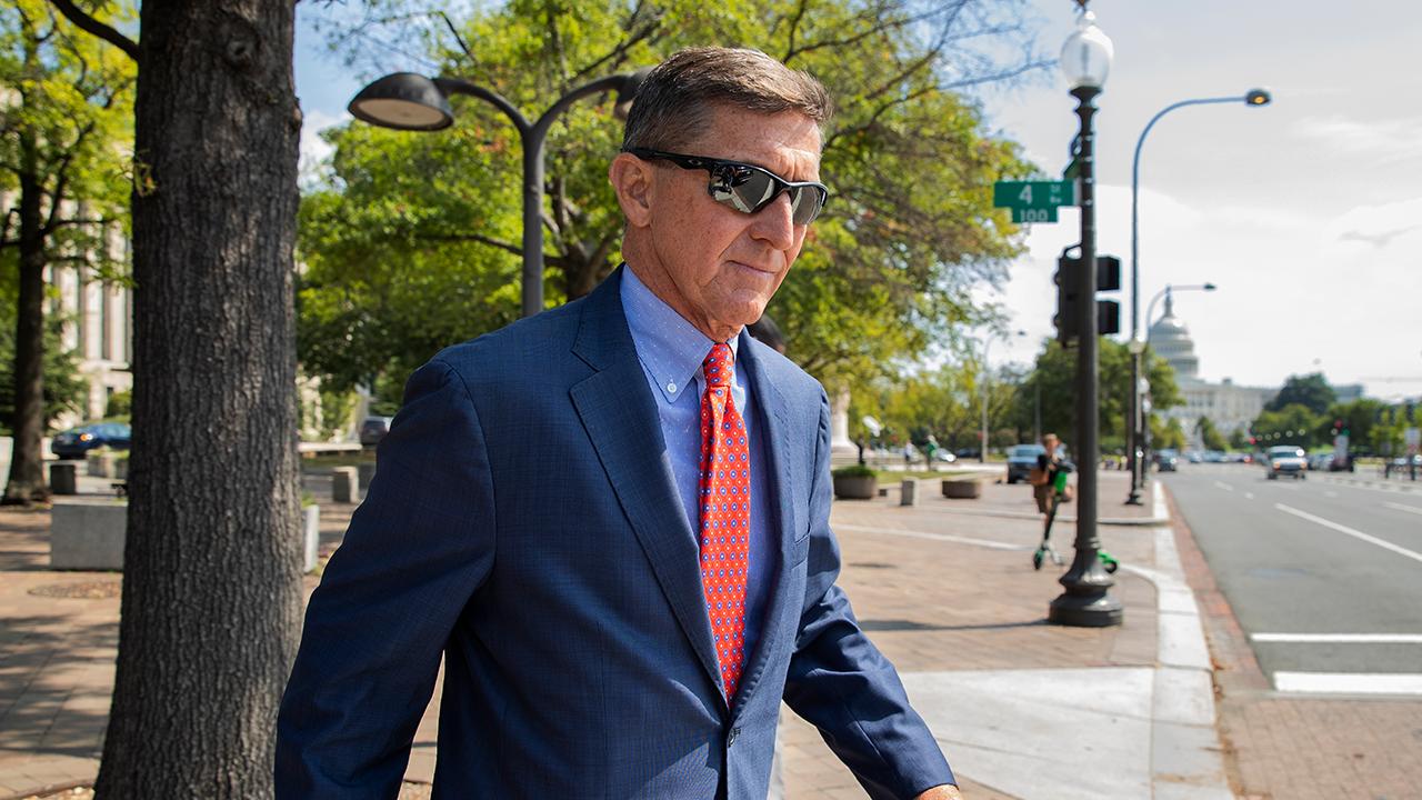 Michael Flynn Leaving Court