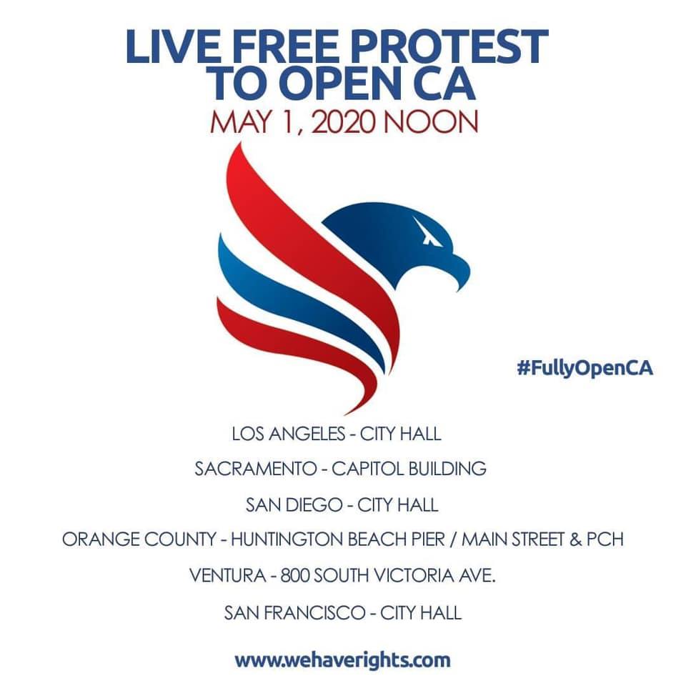 Reopen San Diego Rally Flier