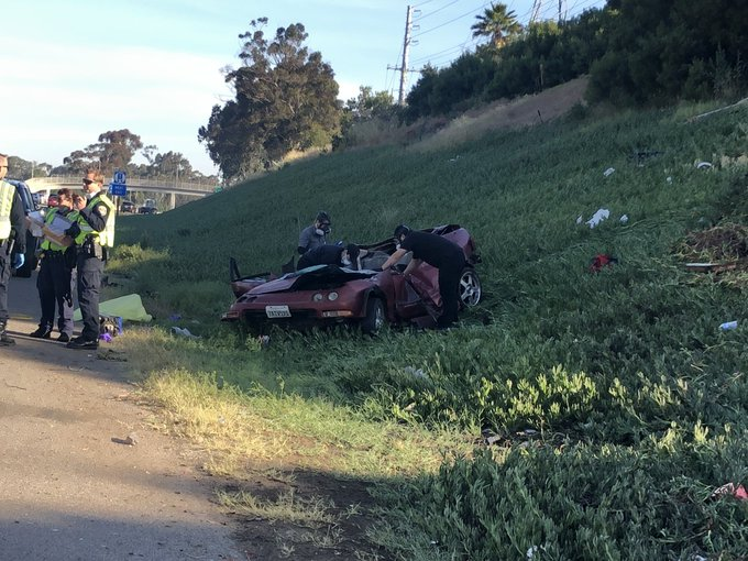 Motorist Killed In I 805 Crash
