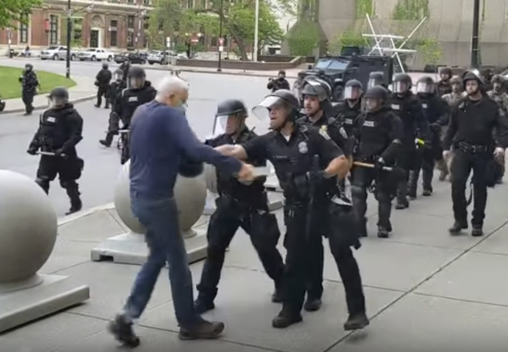 America Protests Buffalo