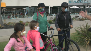 San Diegans Wearing Masks