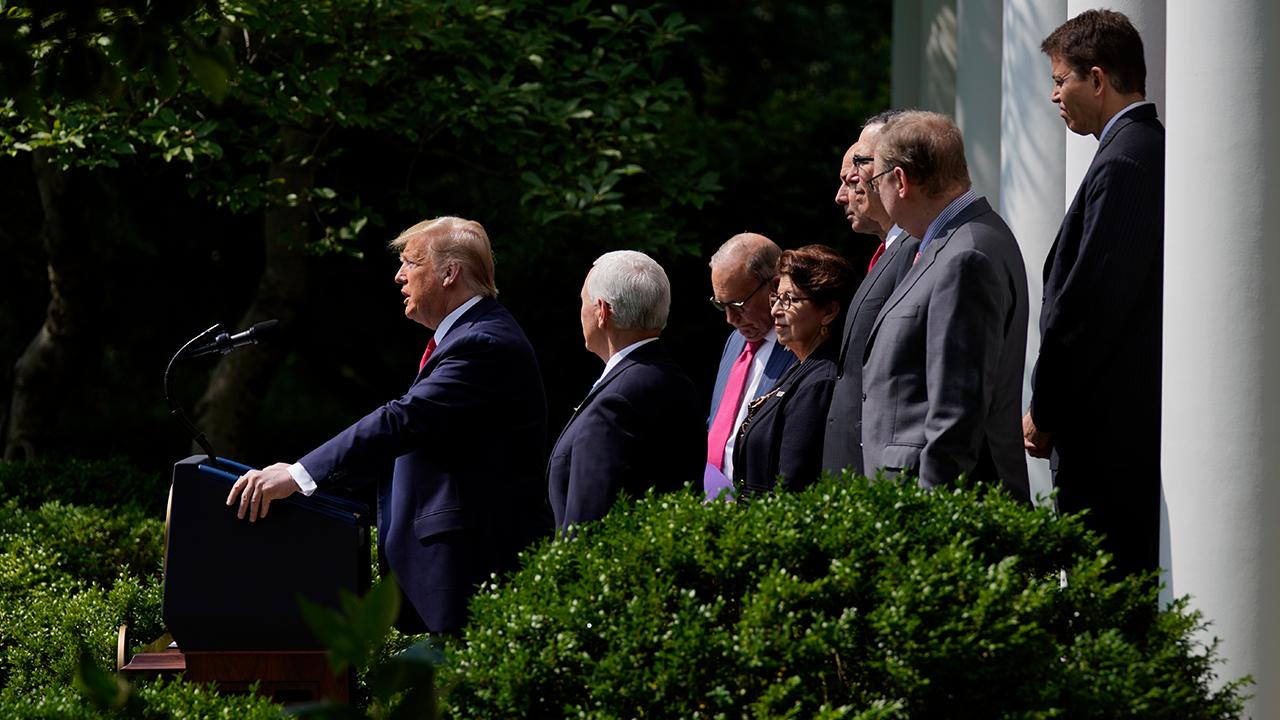 Trump Jobs Report Presser
