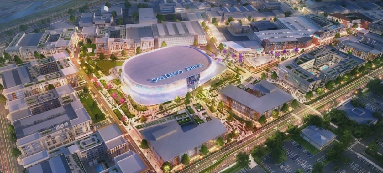 Brookfield Properties San Diego Wins Sports Arena Redevelopment