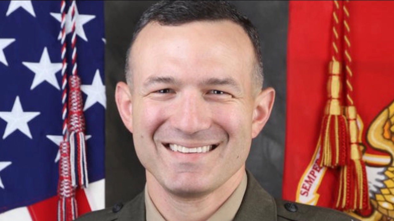 Marine Lt. Col. Michael Regner