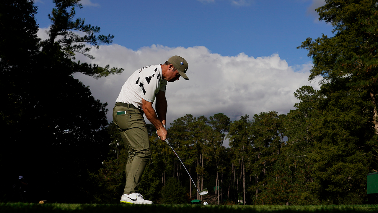 Paul Casey Tees Off Masters