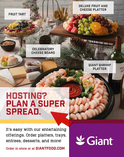 Giant Food Super Spread Ad