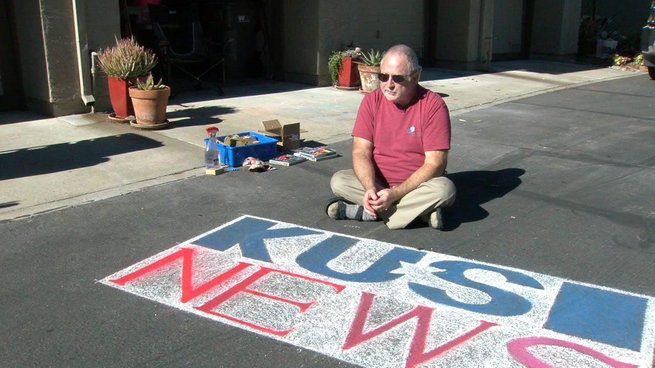 Jim Hunt Chalk Artist