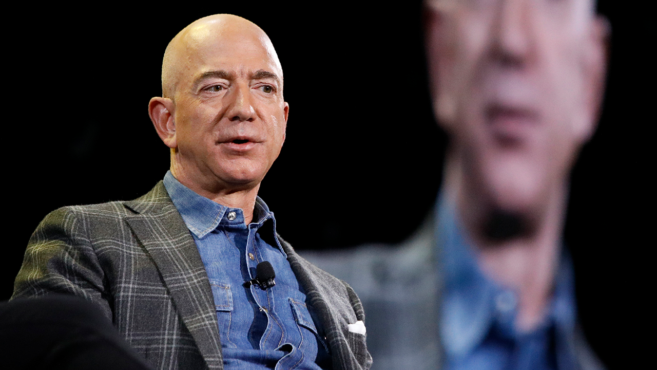 Jeff Bezos stepping down as CEO of Amazon -