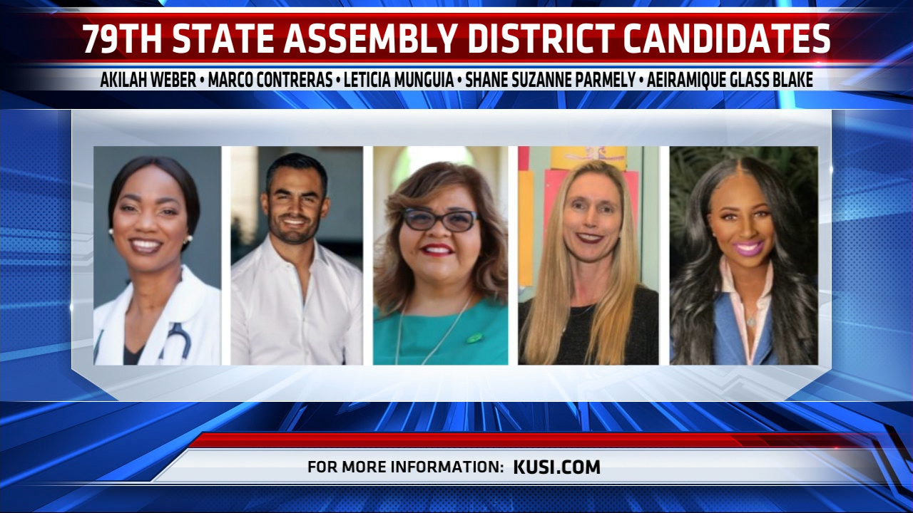 79th State Assembly District Candidates