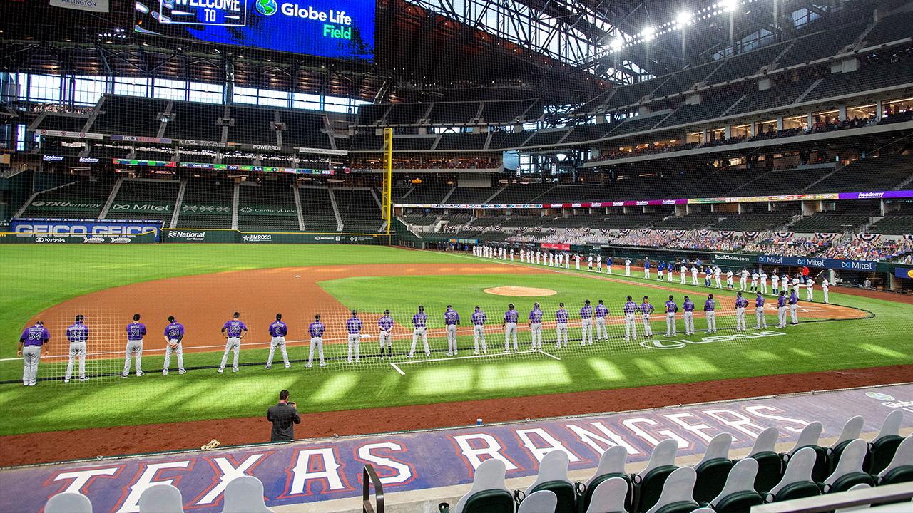 Texas Rangers Full Capacity