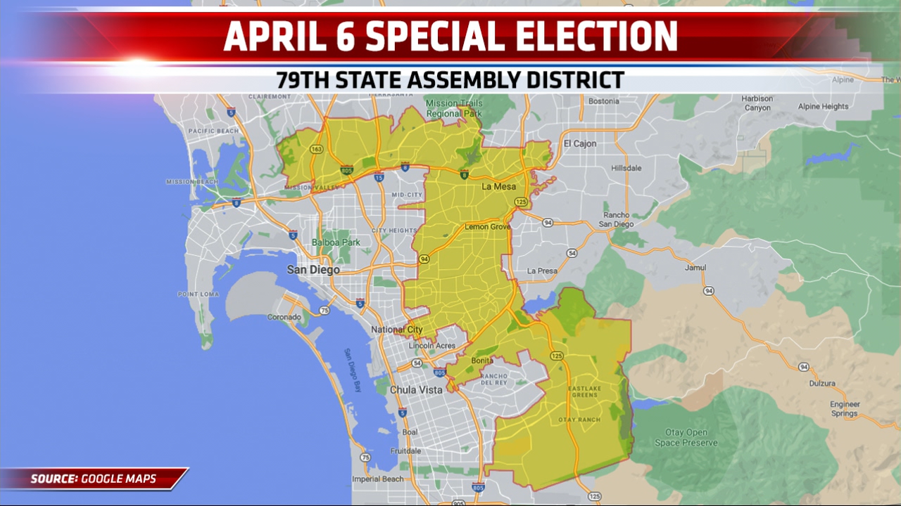 79th State Assembly District Map