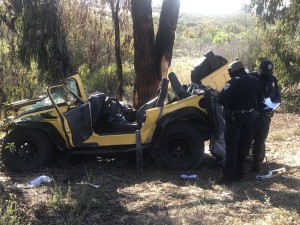 15 Yellow Jeep Crash