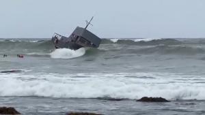Capsized Boat 4