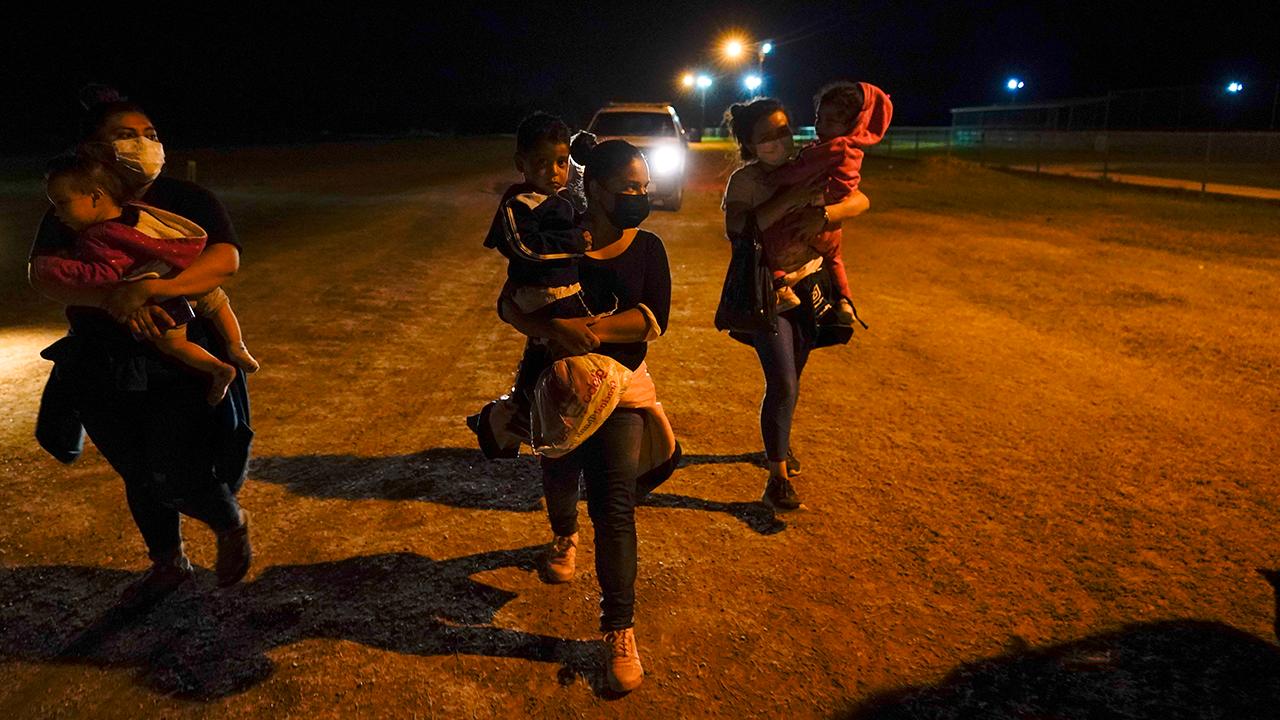 La Joya Texas Asylum Seekers