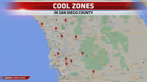 Cool Zones Map July 2021