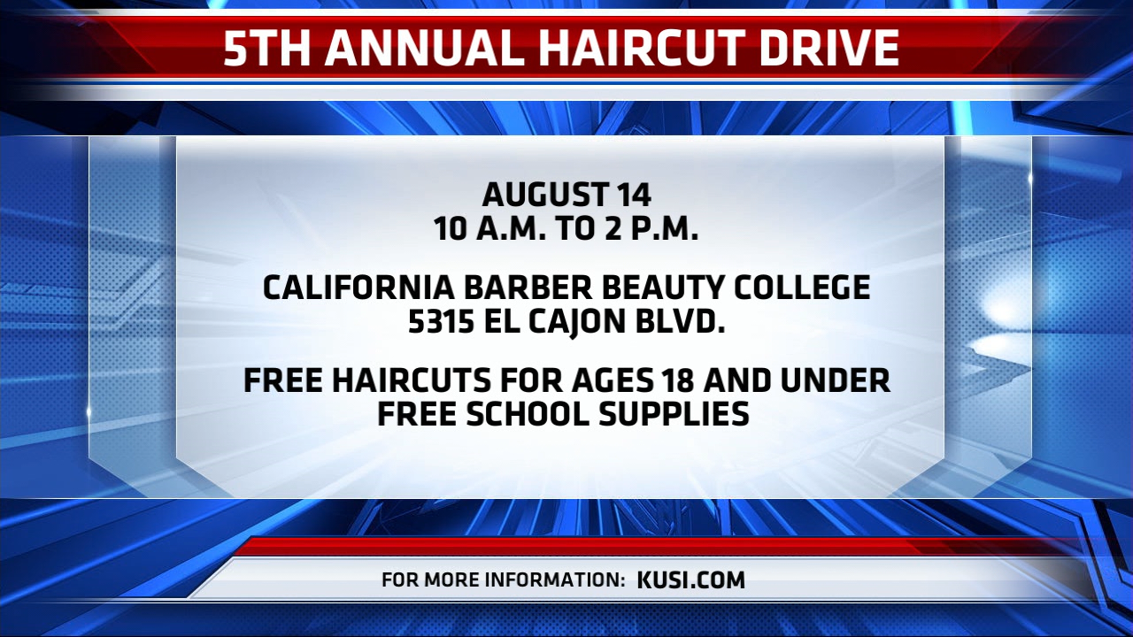 5th Annual Haircut Drive Time And Date