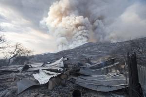 California Wildfire Gender Reveal