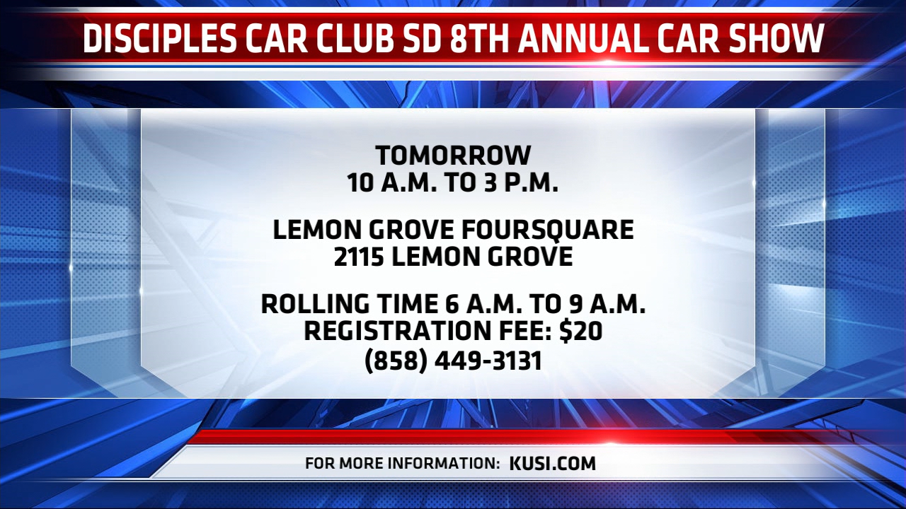 Disciples Car Club Location And Time