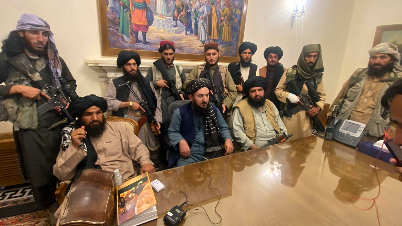 Taliban Taking Control Of Presidential Palace