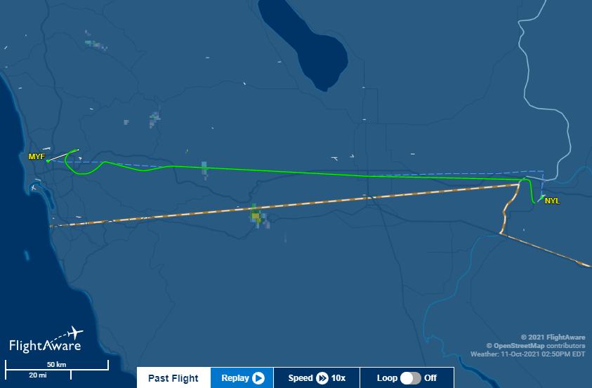 Santee Plane Crash Flight Aware
