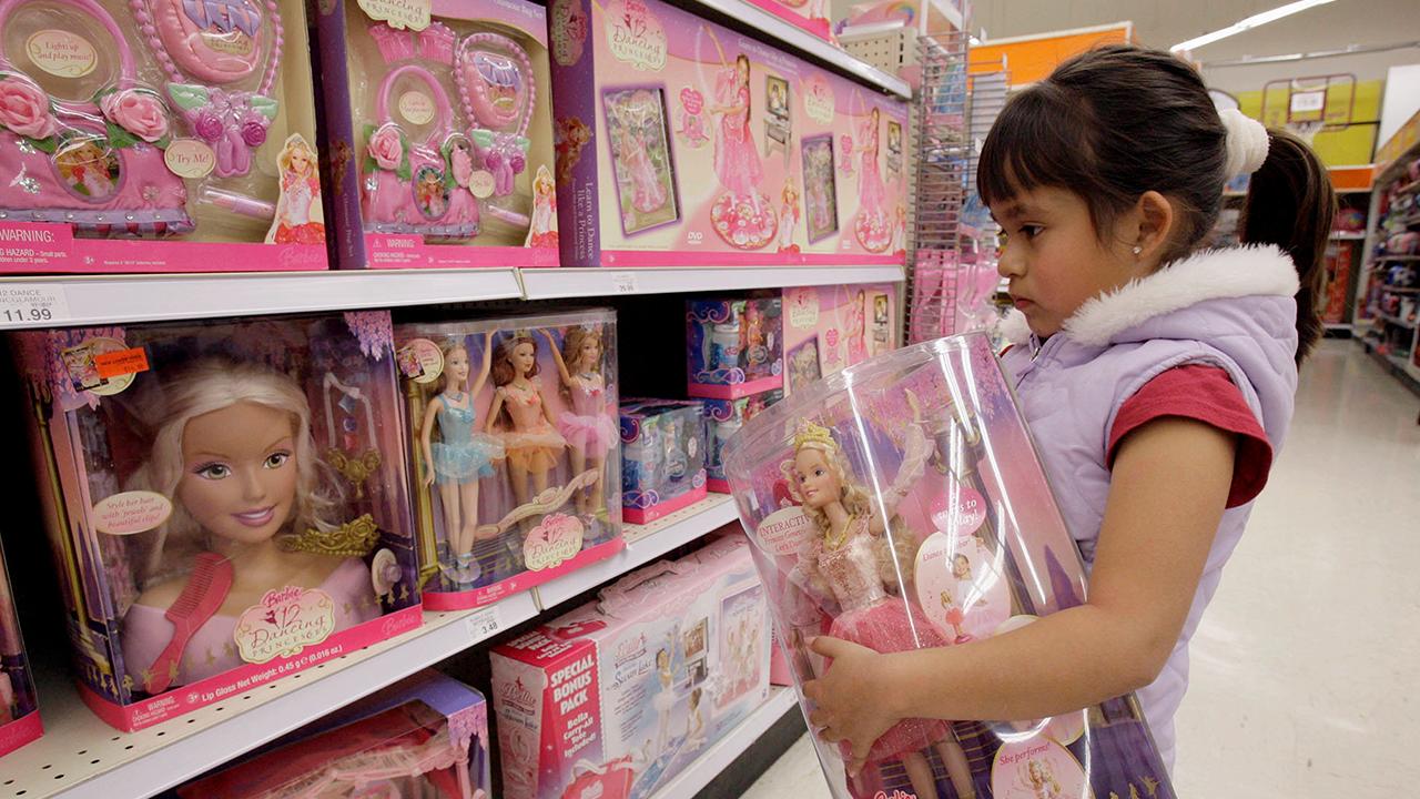 California Gender Neutral Stores Barbie Aisle
